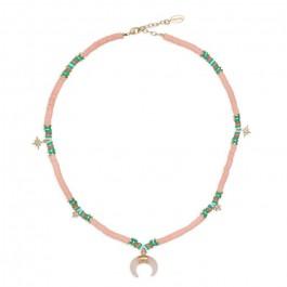 Hipanema Malibu coral necklace