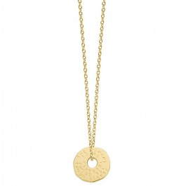 Cross Gold platted necklace