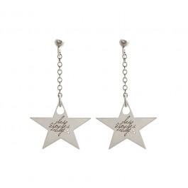 Boucles d'oreilles Star en argent