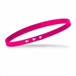 Fuchsia Make today totally awesome Bracelet