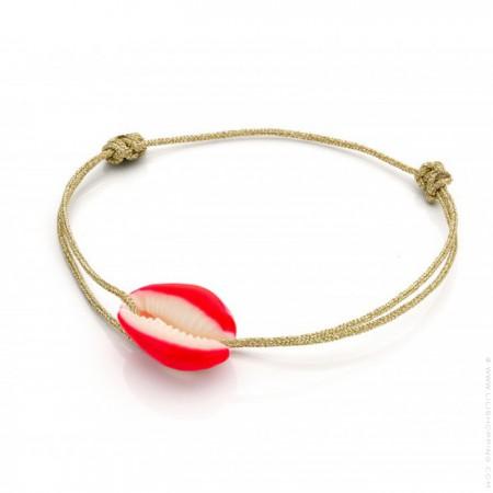 Celestun red cord bracelet
