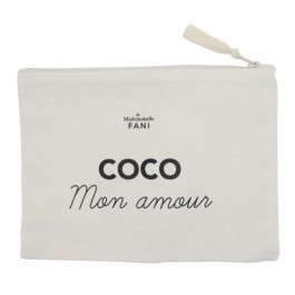 Coco mon amour pouch