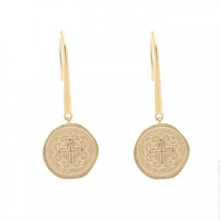 Gold platted Celeste earrings