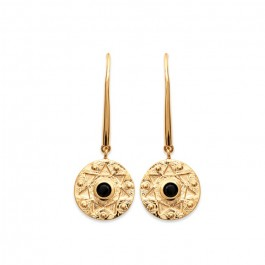 Gold platted Amazonia earrings