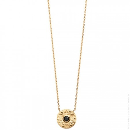 Gold platted Amazonia necklace