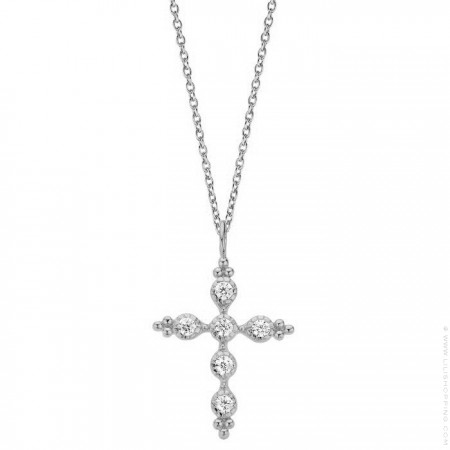Comete Silver platted necklace