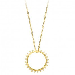 Sevilla cross Gold platted necklace