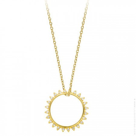 Sunset Gold platted necklace