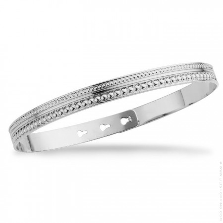 Maharaja silver platted bracelet