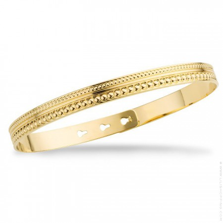 Bracelet Maharaja plaqué or