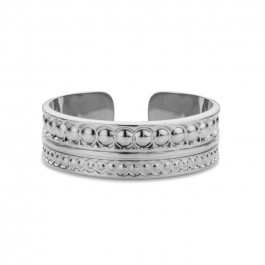 Maharaja Silver Plated Ring
