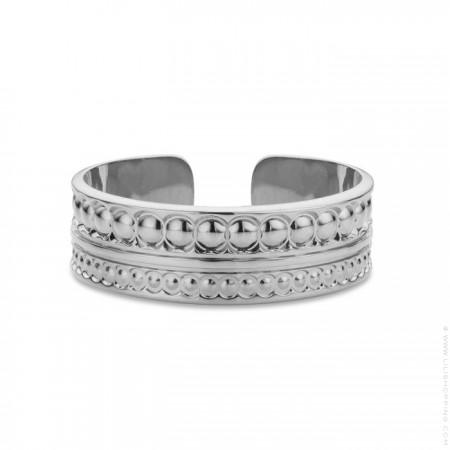 Maharaja Silver Plated Ring