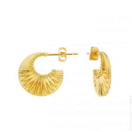 Celeste gold platted earrings