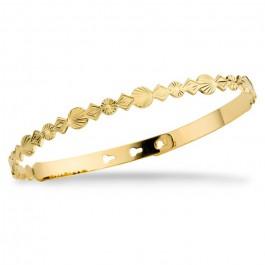 Bracelet Cuba plaqué or