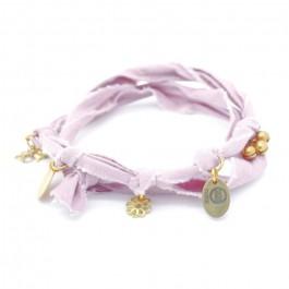 Bracelet doudou rose