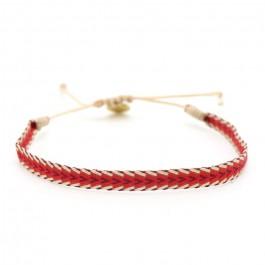 Bracelet Argentinas rouge et burgundy