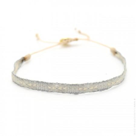 Bracelet Argentinas lin et argent