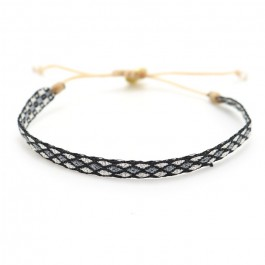 Argentinas silver black and grey bracelet