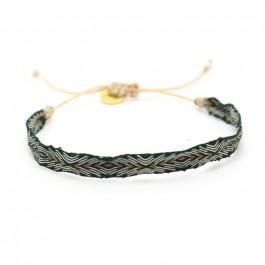 Bracelet Argentinas kaki cuivre