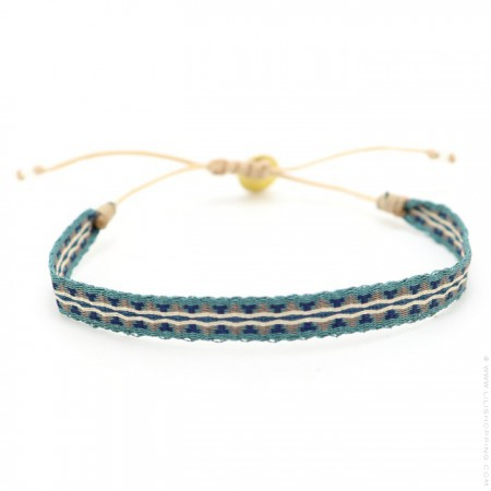 Argentinas duck green and duck blue bracelet