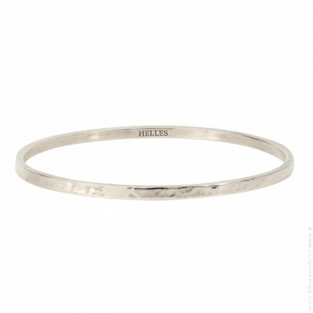 Silver platted Metal bangle