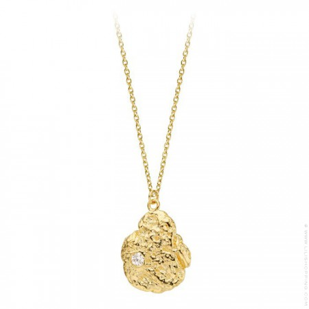 Pepite Gold platted necklace