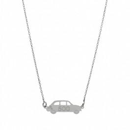 Collier Fiat 500 en argent