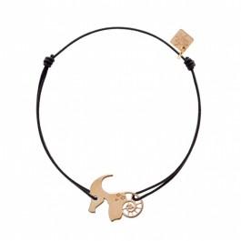 Bracelet Capricorne plaqué or rose My Little Zodiac Les étoiles de Lily