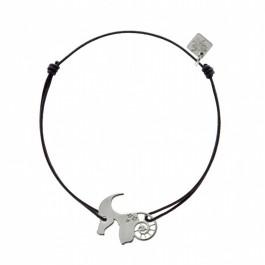 Bracelet Capricorne en argent My Little Zodiac Les étoiles de Lily