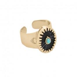 Achille black ring