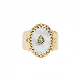 Achille white ring