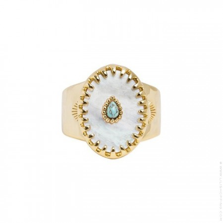 Achille white ring