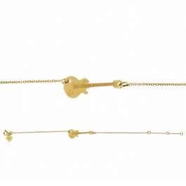 Bracelet chaine Jimi plaqué or Les étoiles de Lily