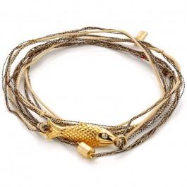 Bonifacio multi cord bracelet
