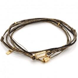 Ajaccio multi cord bracelet