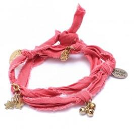 Bracelet doudou corail