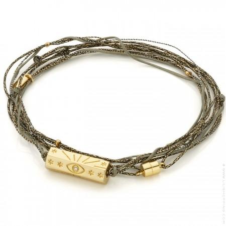 Martinique multi cord bracelet