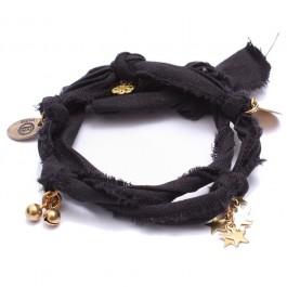 Bracelet doudou noir Marie Depaire