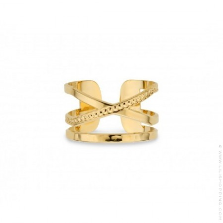 Bague Brooklyn plaquée or