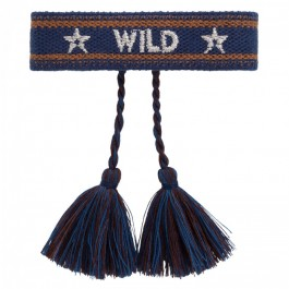 Wildee navy Hipanema bracelet