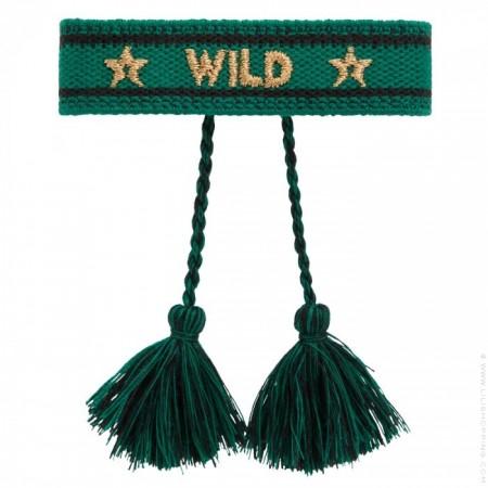 Bracelet Hipanema Wildee green