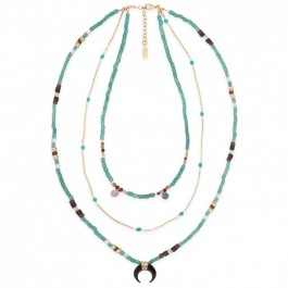 Hipanema Platinium white necklace