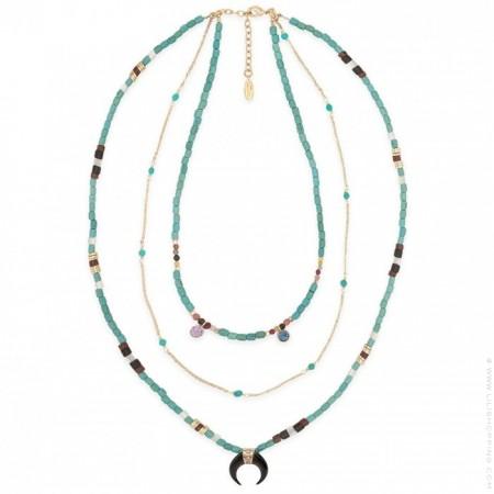 Hipanema Geronimo turquoise necklace