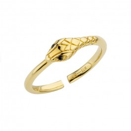 Serpiente gold Plated Ring