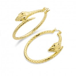 Charlize gold platted earrings