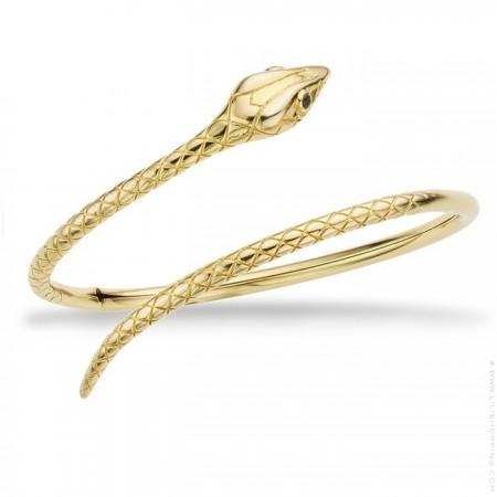 Serpiente gold platted bracelet