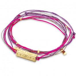 Martinique turquoise multi cord bracelet