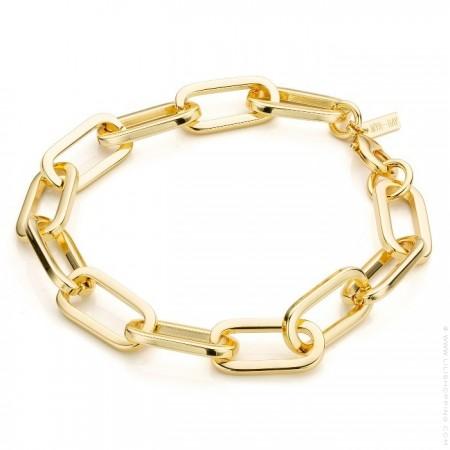 Santa Monica gold platted bracelet