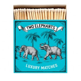 Two elephants Luxury matchbox