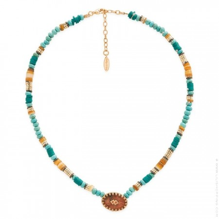 Hipanema Bessame turquoise necklace